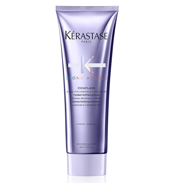 KÉRASTASE BLOND ABSOLU CICAFLASH INTENSE STRENGTHENING CONDITIONER cremebrulee taupo