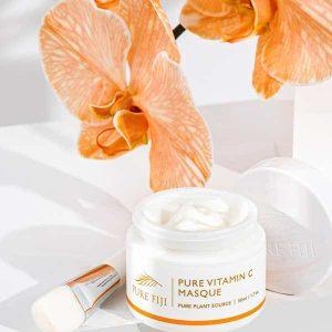 Pure Vitamin C Masque cremebrulee taupo