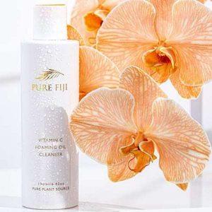 Vitamin C Foaming Oil cleanser cremeburlee taupo